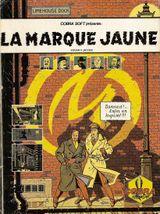 Jaquette La Marque Jaune