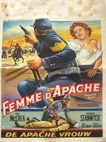 Affiche Femme d'Apache