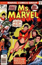 Couverture Ms. Marvel (1977 - 1979)
