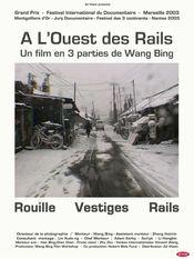 Affiche À l'Ouest des Rails