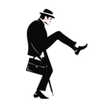 Jaquette Monty Python's The Ministry of Silly Walks