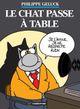 Couverture Le Chat passe à table - Le Chat, tome 19