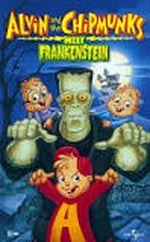 Affiche Alvin et les Chipmunks contre Frankeinstein