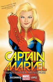 Couverture Higher, Further, Faster, More - Captain Marvel (2014), tome 1