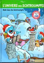 Couverture Noël chez les Schtroumpfs - L'Univers des Schtroumpfs, tome 2