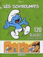 Couverture 120 blagues et autres surprises - Les Schtroumpfs, tome 5