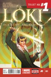 Couverture Loki: Agent of Asgard (2014 - 2015)