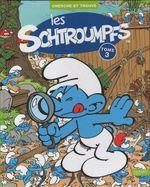 Couverture Cherche et Trouve - Les Schtroumpfs, tome 3