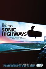 Affiche Sonic Highways
