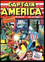 Couverture Captain America