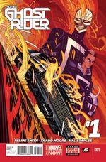 Couverture All-New Ghost Rider (2014 - 2015)