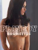 Couverture Playboy: Brunettes