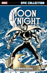 Couverture Moon Knight Epic Collection: Bad Moon Rising