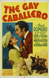 Affiche The Gay Caballero