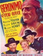 Affiche Geronimo le peau rouge