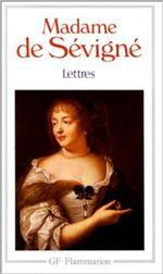 Couverture Lettres