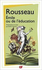 Couverture Émile ou De l'éducation