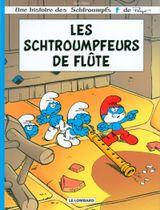 Couverture Les Schtroumpfeurs de flûte - Les Schtroumpfs
