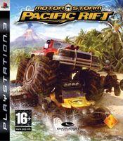 Jaquette MotorStorm Pacific Rift