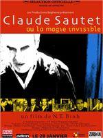 Affiche Claude Sautet ou la Magie invisible