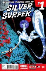 Couverture Silver Surfer (2014 - 2015)
