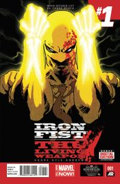 Couverture Iron Fist: The Living Weapon (2014 - 2015)