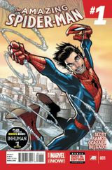 Couverture Amazing Spider-Man (2014 - 2015)