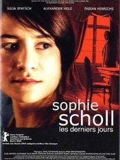 Affiche Sophie Scholl, les derniers jours