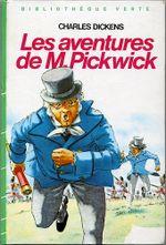 Couverture Les Aventures de monsieur Pickwick
