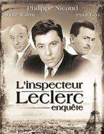 Affiche L'inspecteur Leclerc enquête