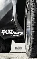 Affiche Fast and Furious 7