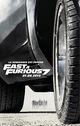 Affiche Fast & Furious 7
