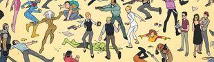 Cover Les meilleures histoires de personnages Marvel de seconde zone.