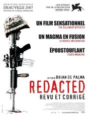 Affiche Redacted