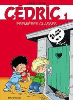 Couverture Premières classes - Cédric, tome 1