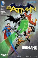 Couverture Batman: Endgame