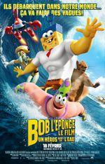 Affiche Bob l'éponge, le film : Un héros sort de l'eau