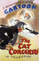 Affiche Tom et Jerry au piano