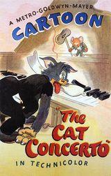 Affiche Tom et Jerry au piano