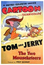 Affiche Tom and Jerry : The Two Mouseketeers