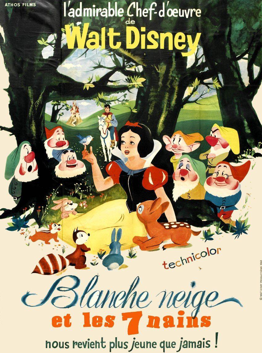 Blanche Neige Et Les Sept Nains Long Metrage D Animation 1937