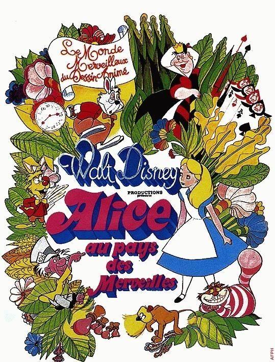 Affiches, posters et images de Alice au pays des ...