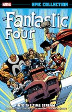 Couverture Fantastic Four Epic Collection: Into the Time Stream