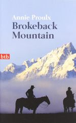 Couverture Brokeback Mountain