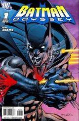 Couverture Batman Odyssey, tome 1