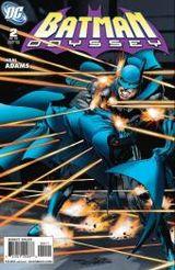 Couverture Batman Odyssey, tome 2