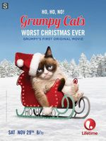 Affiche Grumpy Cat's Worst Christmas Ever