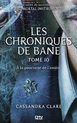 Couverture À la poursuite de l'amour - Les Chroniques de Bane, tome 10