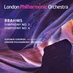 Pochette Symphony no. 3 / Symphony no. 4 (Live)