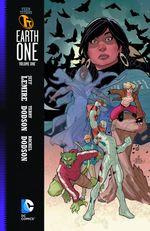Couverture Teen Titan Earth One, tome 1